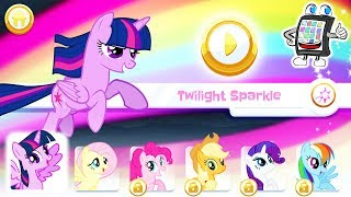 MY LITTLE PONY Regenbogenläufer App deutsch | Twilight Sparkle + Fluttershy machen Welt wieder bunt