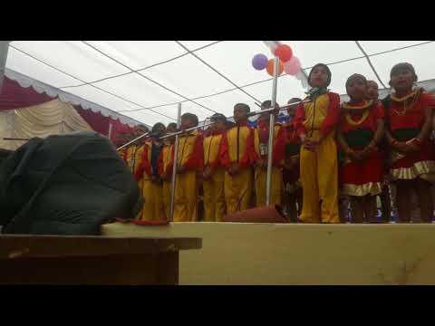 Song by class 2 students  of Anupam vidya sadan
