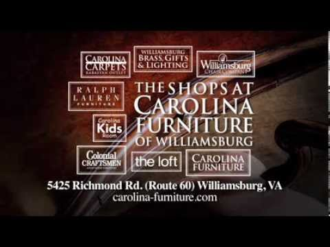 Visit The Shops At Carolina Furniture Of Williamsburg