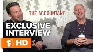 Ben Affleck & Gavin O'Connor Exclusive 'The Accountant' Interview (2016)