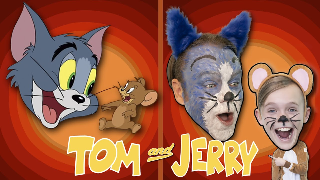 Tom and Jerry! Recreated by Kids Fun TV! Part 2