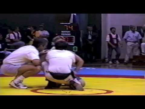 1995 World Cup: 74 kg Rasul Katinovasov (RUS) vs. Cory Kwak (CAN)