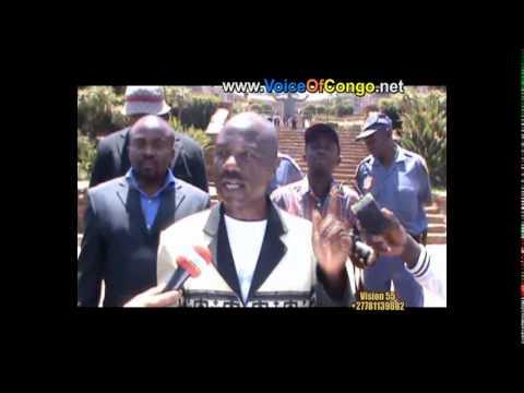 DEPOT DU MEMO TOUCHE PAS MA CONSTITUTION A LA PRESIDENCE DE LA REPUBLIQUE SUD AFRICAINE 23 Octobre 2