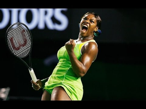 Serena Williams VS Maria Sharapova Highlight 2007 AO Final