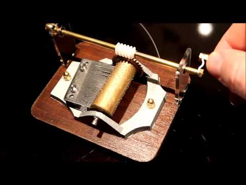 Restoring an antique music box