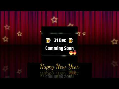 Happy New Year 2019 #31st #december #special #whatsapp #status