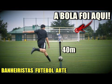 O GOL MAIS BONITO DA MINHA VIDA!!! - BANHEIRISTAS FUTEBOL ARTE #1
