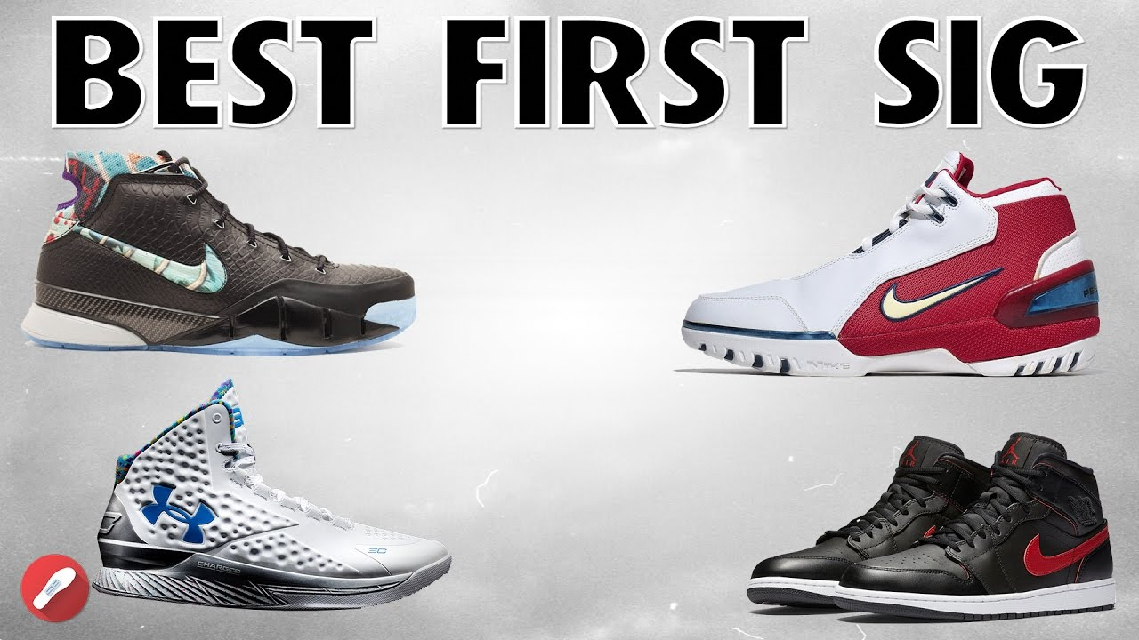 Who Had The Best First Signature Shoe