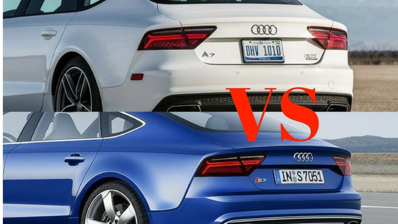 Wow 2018 Audi A7 Vs 2018 Audi S7 Worth The Upgrade