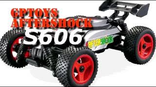 gptoys aftershock s606 buggy unbox overview sample run