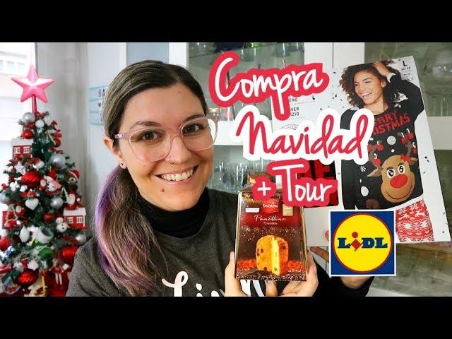 COMPRA SEMANAL LIDL NAVIDAD + TOUR TIENDA | Unboxing Disfrutabox Noviembre 2018