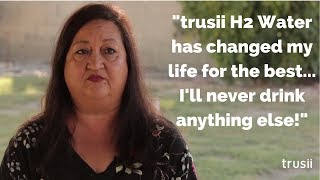 trusii Hydrogen Water Stories:  Jackie P.