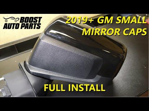 Remove or Replace Your 2019+ GM Small Mirror Caps (2019+ Silverado/Sierra)