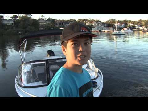 Fishing With Family on Bates Bay (Cronulla)