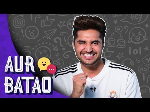 Jassi Gill On Why Punjabi Lyrics Need A Vodka Shot || SURMA KAALA INTERVIEW ||| AUR BATAO