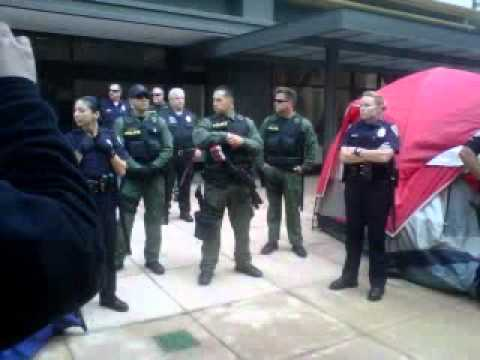 occupy riverside (police) pt 2