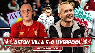 YOUNG REDS LEARN VALUABLE LESSON | Aston Villa 5-0 Liverpool Match Reaction