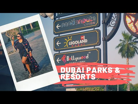 Dubai Travel Vlogs|Dubai Parks & Resorts Part 1|Bollywood Parks and Motiongate