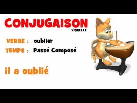 Conjugaison Oublier Passe Compose Youtube