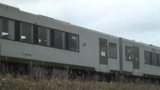 2011.3.22の磐越東線・・・福島県田村市