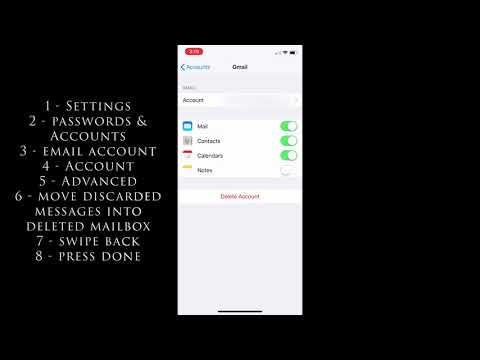 Replace The Archive Button For The Delete Button In Mail App In IOS 12