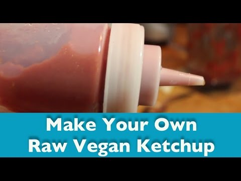 How To Make Ketchup (Raw, Vegan, Gluten Free)