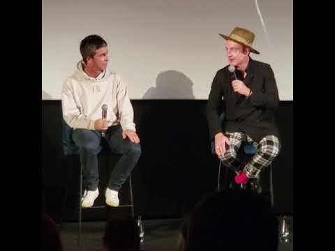 Noel Gallagher interviewed at the World premiere of Oasis Knebworth 96 film
