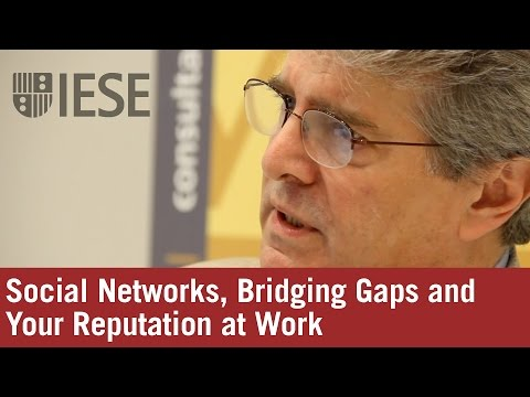 Social Networks, Bridging Gaps and Your Reputation at Work