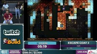 Escape Goat 2 by Vulajin in 18:14 - SGDQ 2016 - Part 63