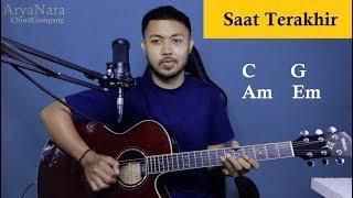 Download Chord Gampang (Saat Terakhir - ST12) by Arya Nara (Tutorial Gitar) Untuk Pemula