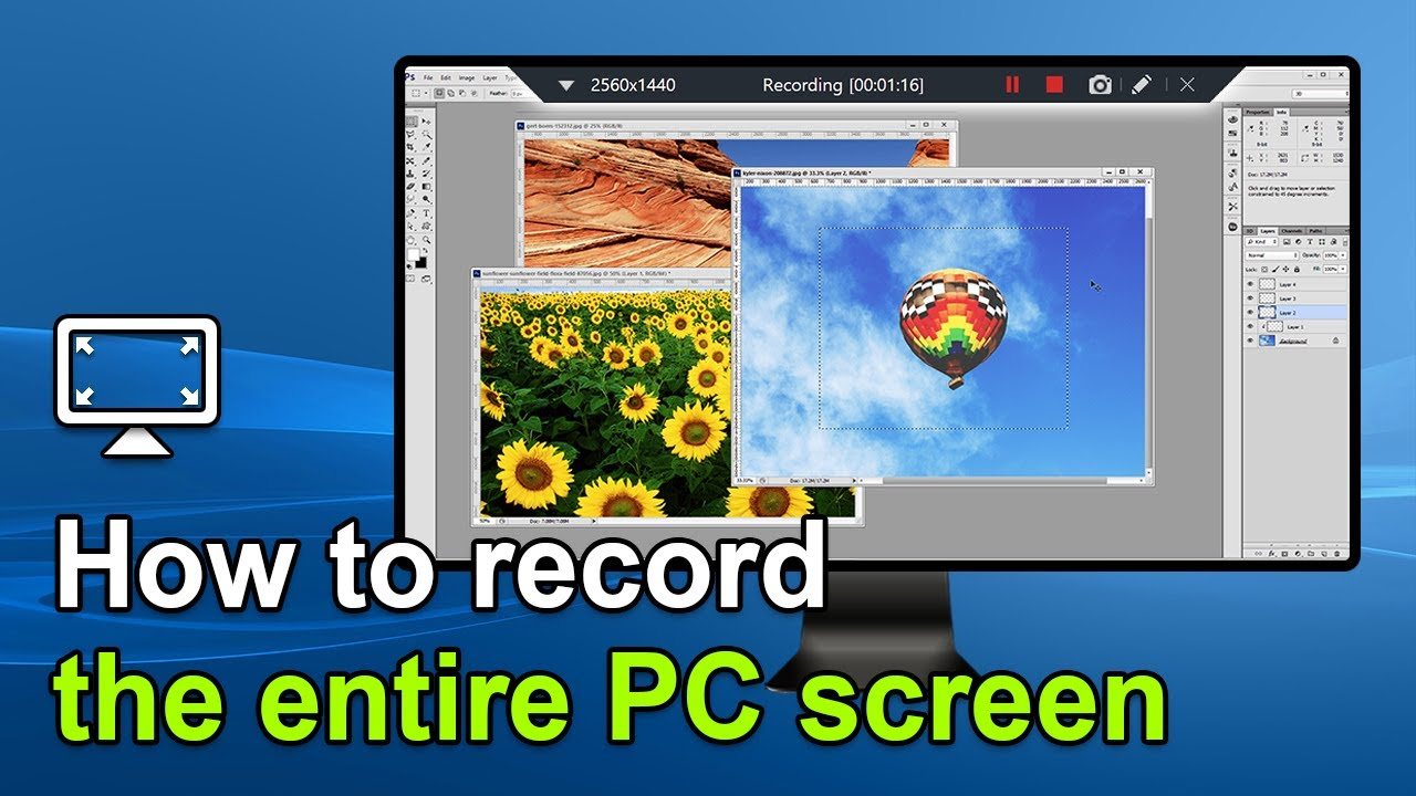 Screen Recorder - Fullscreen capture - How to use Bandicam