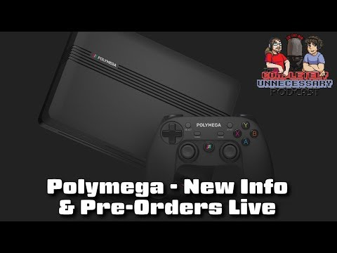 Polymega Retro Console: New Info And Pre-Orders Live - #CUPodcast