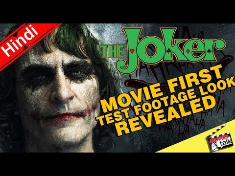 The Joker Movie First Test Footage Look...