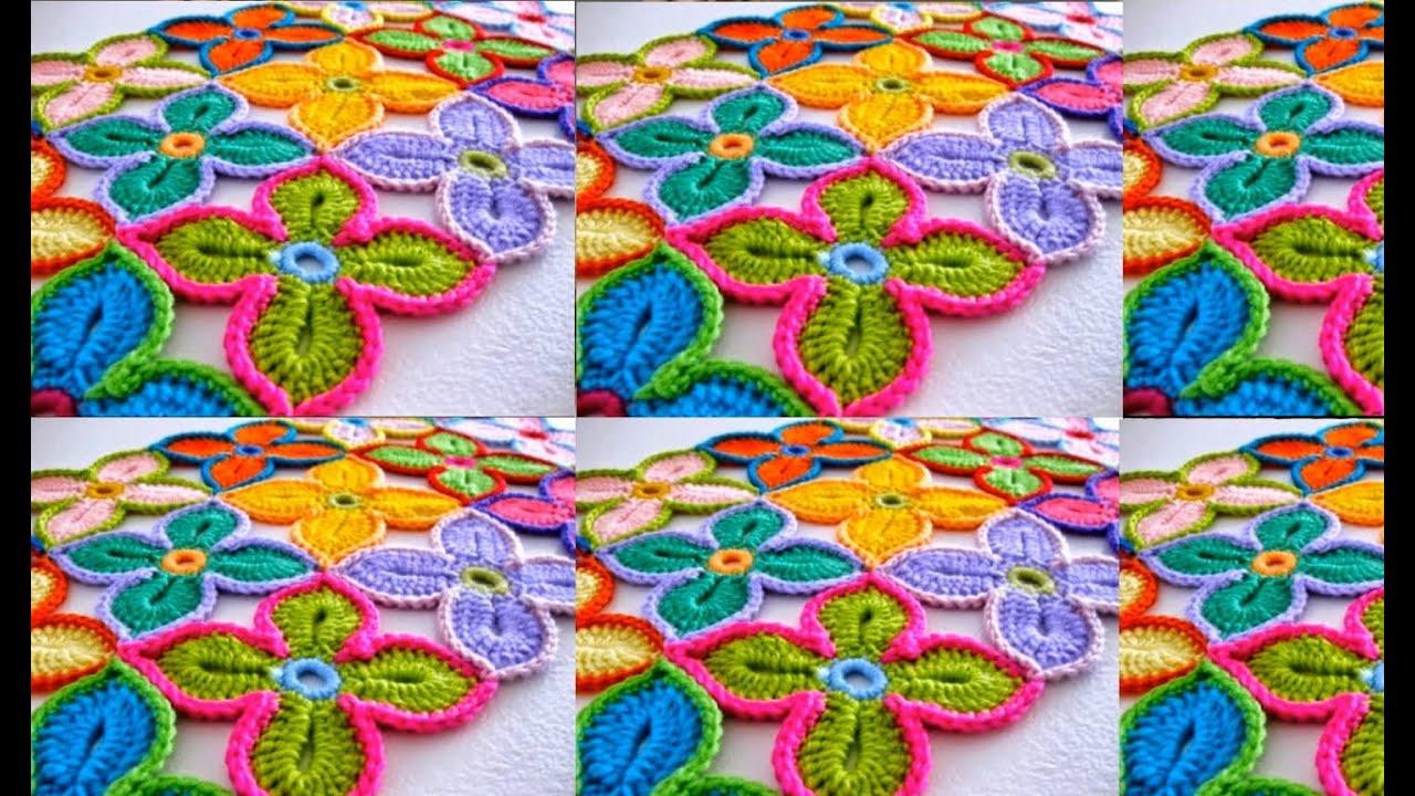 Preciosos manteles para tu mesa tejidos a crochet youtube - Manteles para mesa ...