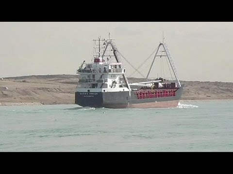 Egypt launches digging of second Suez canal