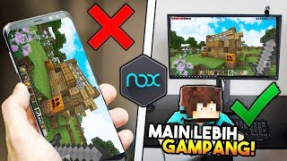 CARA MAIN MINECRAFT PE DI PC PAKAI NOXPLAYER 😱 ! *Giveaway Minecraft PE Premium*