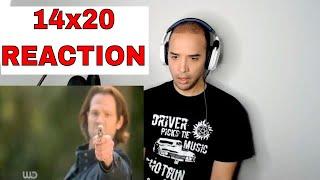 Supernatural 14x20 Season Finale REACTION