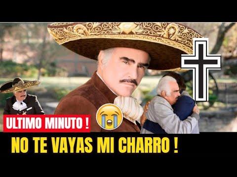 """¡ 🙏HACE UNAS HORAS ! Confirman , LAMENTABLE NOTICIA, Triste Despedida """"Vicente Fernandez Hoy 2021 !"""