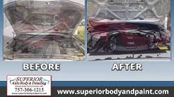 Superior Scratch & Dent Removal Inc | Auto Body & Collision Repair in Virginia Beach