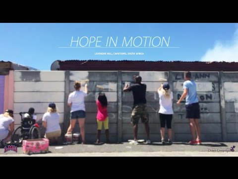 Hope In Motion - The Chaeli Campaign & LMU in Lavender Hill