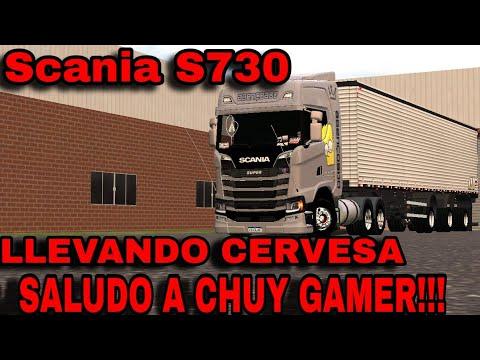 [W.T.D.S]HACK SCANIA S730!!! ESTILO BRASIL!!! SALUDO A CHUY GAMER!!