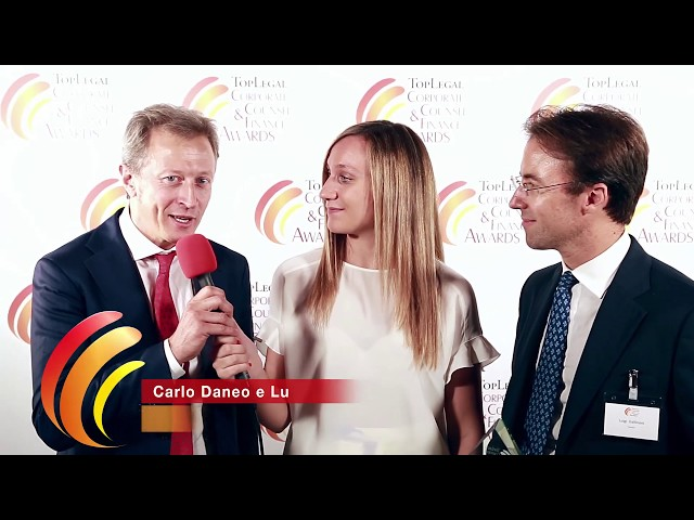 Carlo Daneo e Luigi Gallinoni, Ferrari - TopLegal Corporate Counsel & Finance Awards 2019