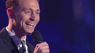 Tom Hiddleston - Best Villain - MTV Movie Awards 2013