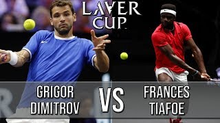 Grigor Dimitrov Vs Frances Tiafoe - Laver Cup 2018 (Highlights HD)