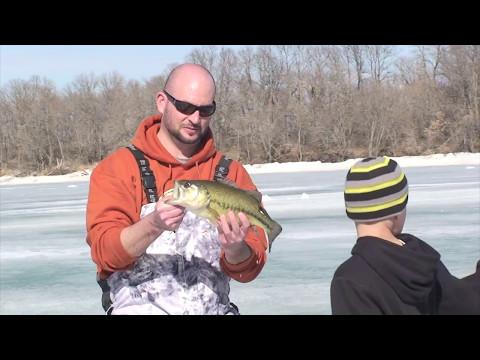 South Dakota Glacial Lakes Region ice fishing