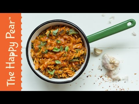 Creamy Tomato Pasta | Vegan One Pot Wonder | THE HAPPY PEAR