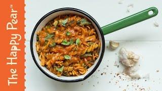 Creamy Tomato Pasta | Vegan One Pot Wonder | THE HAPPY PEAR