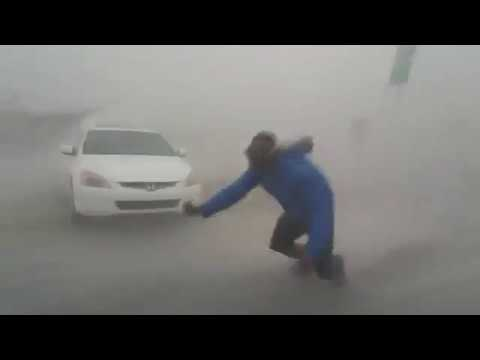Crazy Wind in Florida    ( Storm Irma )