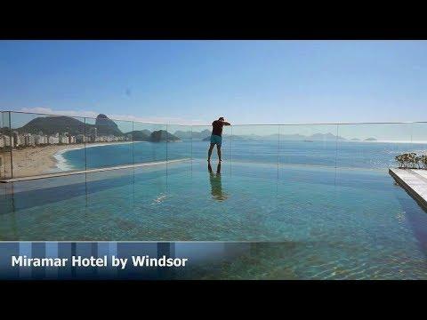 Miramar Hotel by Windsor ***** Copacabana beach Rio de Janeiro  Brazil
