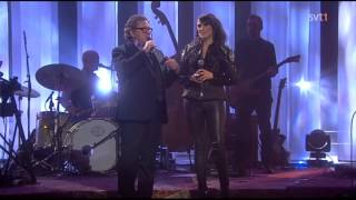 """Jill Johnson & Tommy Körberg: """"Always On My Mind"""" & """"I Believe I'm In Love With You"""" (Sweden,2013)"""